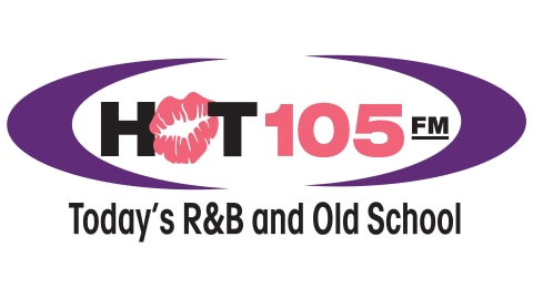HOT 105! - Today's R&B and Old School Logo
